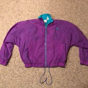 Vintage Nike Purple Swoosh colorblock Jacket M